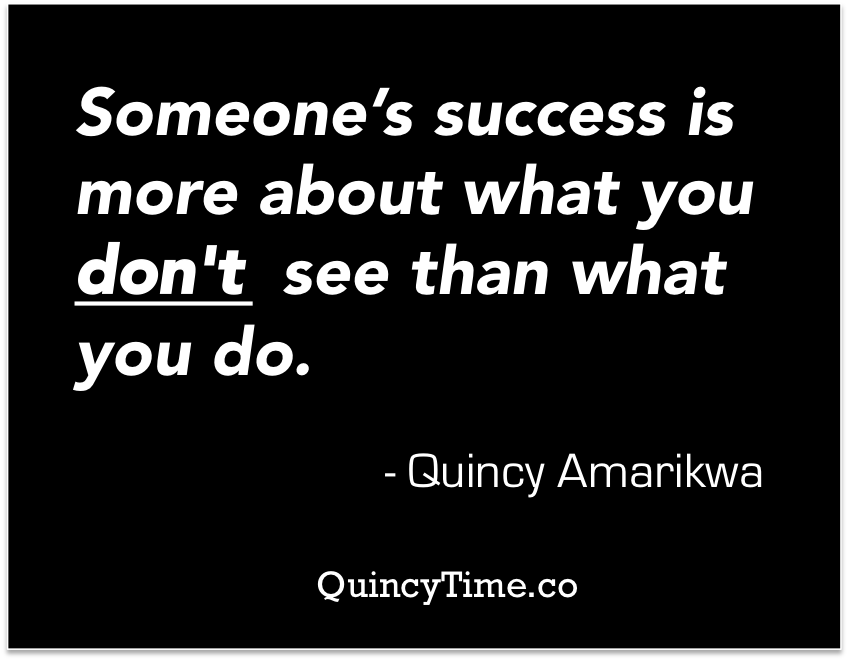 Quincy Amarikwa Quote